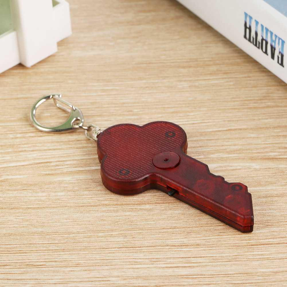 Mini Anti-lost gwizdek lokalizator kluczy bezprzewodowy Alarm tag inteligentny klucz lokalizator brelok Tracker dźwięk gwizdka LED lekkie rzeczy, Tracker