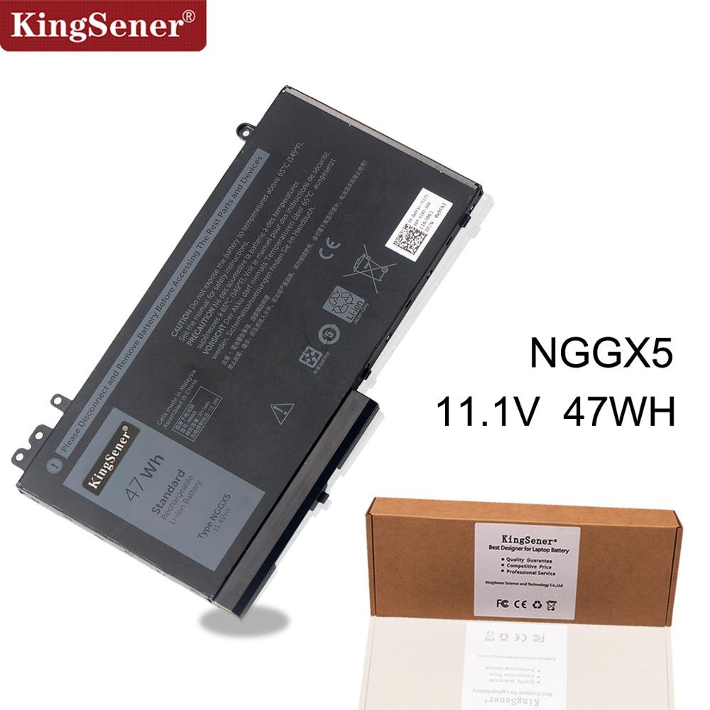 KingSener New NGGX5 Laptop Battery For DELL Latitude E5270 E5470 M3510 E5570 E5550 E5570 JY8D6 954DF 0JY8D6 11.4V 47WH
