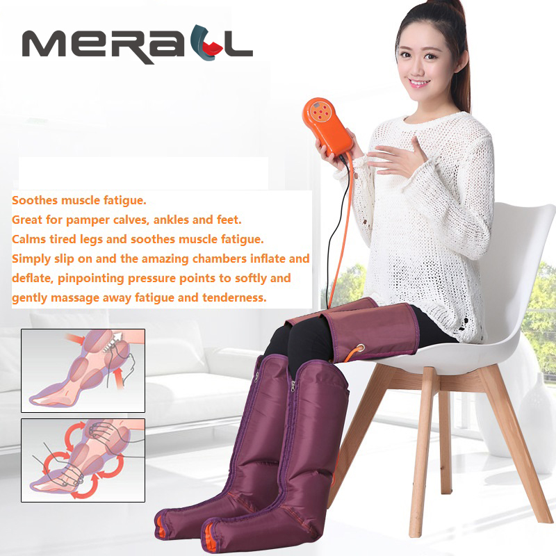 Foot Massager Multi-Function Beauty Apparatus With Physiotherapy Hand Held Controller- Feet  Calves Electric Air PressureFoot Massager Multi-Function Beauty Apparatus With Physiotherapy Hand Held Controller- Feet  Calves Electric Air Pressure