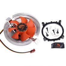 ПК Процессор кулер вентилятор охлаждения радиатора для Intel LGA775 1155 AMD AM2 AM3 754