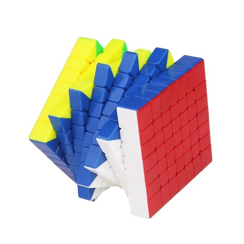 Yuxin Hays 7x7x7 Cube magnétique vitesse magique 7x7 Cube Oringal Cube aimants professionnels Puzzle Cubo Magico 7*7 jouets pour enfants - 6