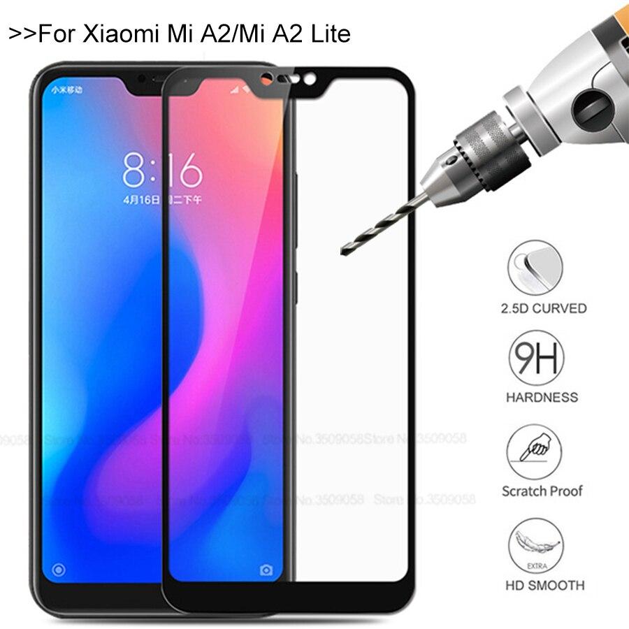 Mi A2 Glass For Xiaomi Mi A2 Lite Screen Protector Tempered Glass  For Xiaomi Mi A3 A3 Lite Glas Mia2 Mia3 Mi A2lite A3lite Film
