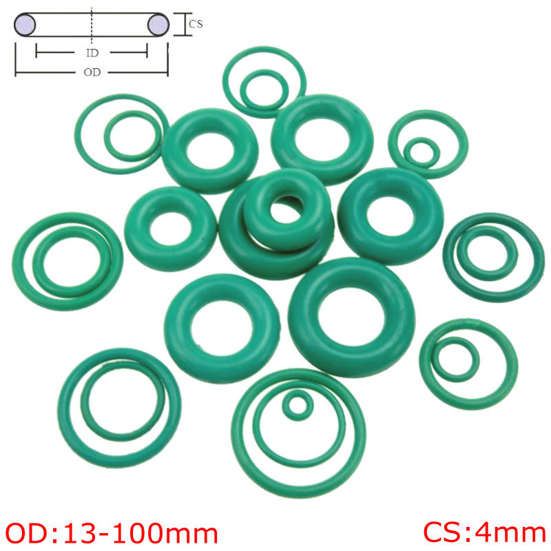 FKM 15mm Inner Diameter Rubber 75A Metric Seals Packets Viton ID O-Rings