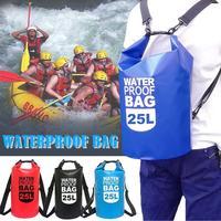 25L Водонепроницаемый сумки хранения сухой мешок для приготовления пищи на воздухе сплав на каноэ каяках на открытом воздухе спортивные сум...