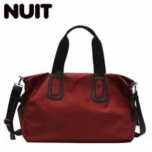 Woman Nylon Luggage Travel Bag Suitcase Large Capacity Bags Portable Tote Travelling Female Fashion Bagsmart