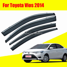 Car Sun Visor Window Rain Shade for Plastic Accessories For Toyota Vios 2014