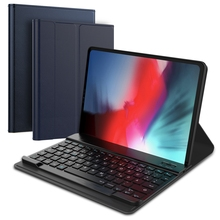 For iPad Pro 11 Inch 2018 Tablet Case Flip Wireless Bluetooth USA Keyboard Smart PU Leather Cover For iPad Pro 11 2018 Case цена и фото