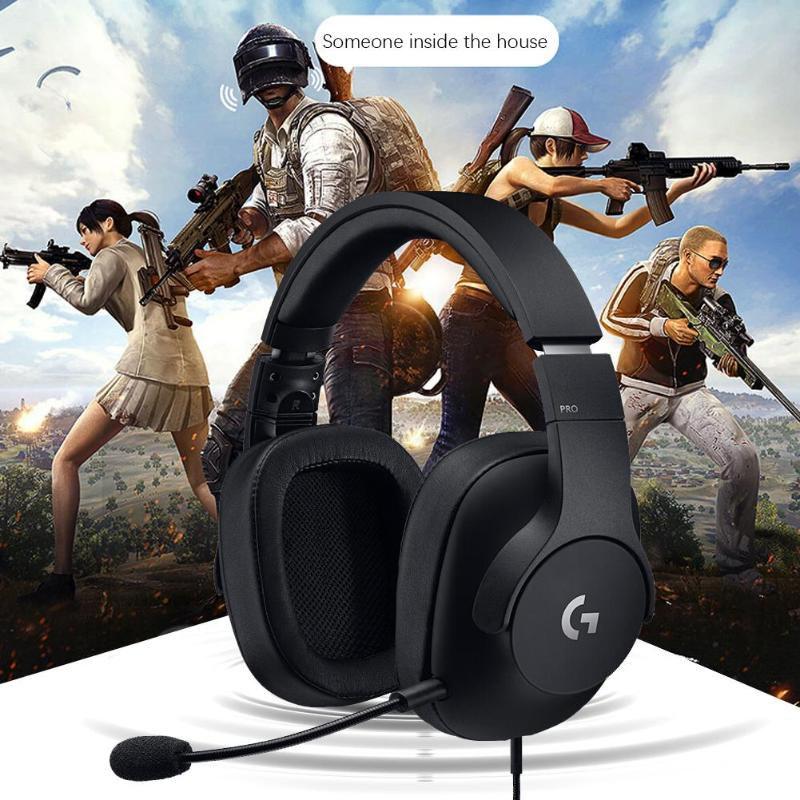 Gaming Headset With Detachable Mic For PC/Xbox One/PS4/NS 20Hz-20kHz Games Headphone For PUBG Gaming Accessary PartsGaming Headset With Detachable Mic For PC/Xbox One/PS4/NS 20Hz-20kHz Games Headphone For PUBG Gaming Accessary Parts