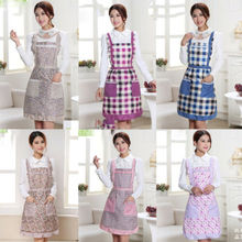 Women Funny Aprons Chefs Kitchen Vintage Novelty + Pockets For Cooking BBQ Thick Waterproof Printed Apron