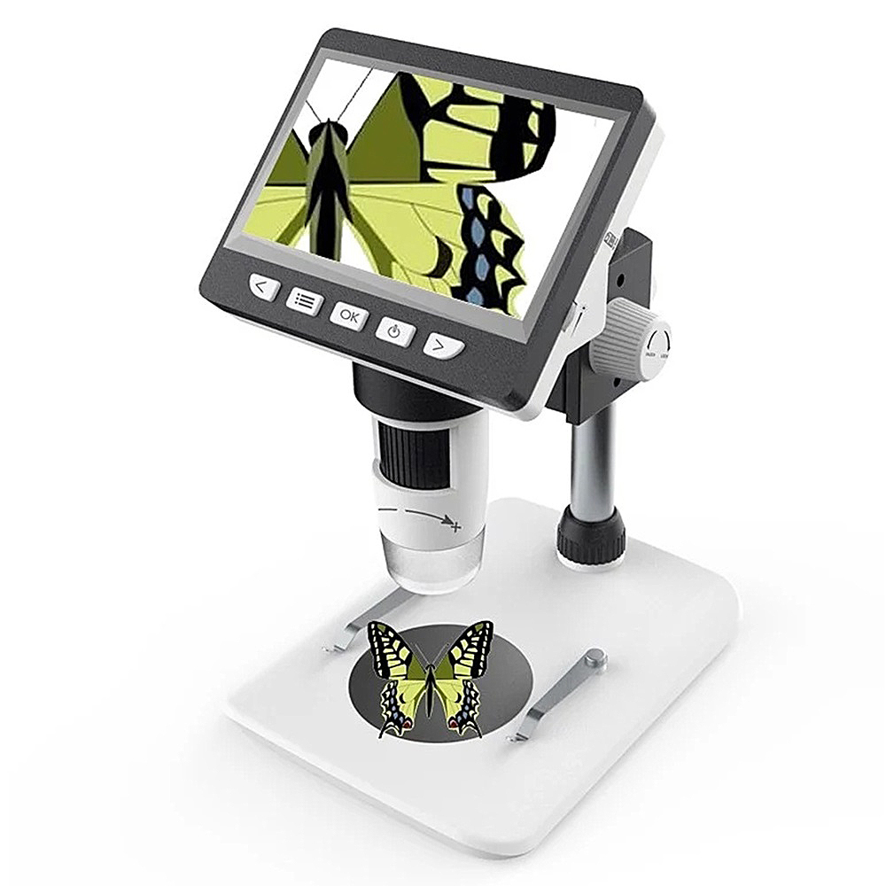 MUSTOOL G700 LCD Digital Microscope 1000X 4 3 inches HD 1080P Portable Desktop LCD Digital Microscope
