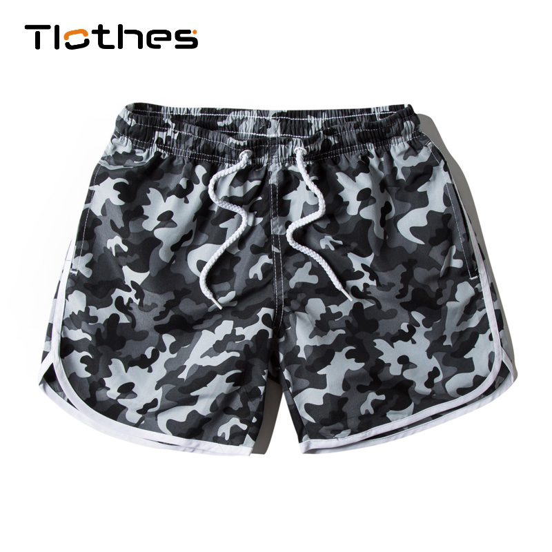 2019 Summer Outdoors Sportwear   Shorts   Trunks Women Beach Womens Camouflage Printing Elastic Tape   Board     Shorts   Bermuda Female