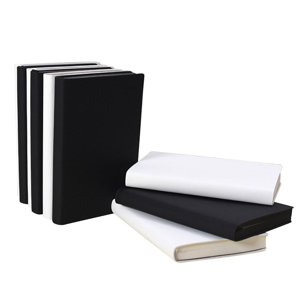 100 Sheets Simple Blank Inner Page Notebook Portable Plan Journal Diary Book R20
