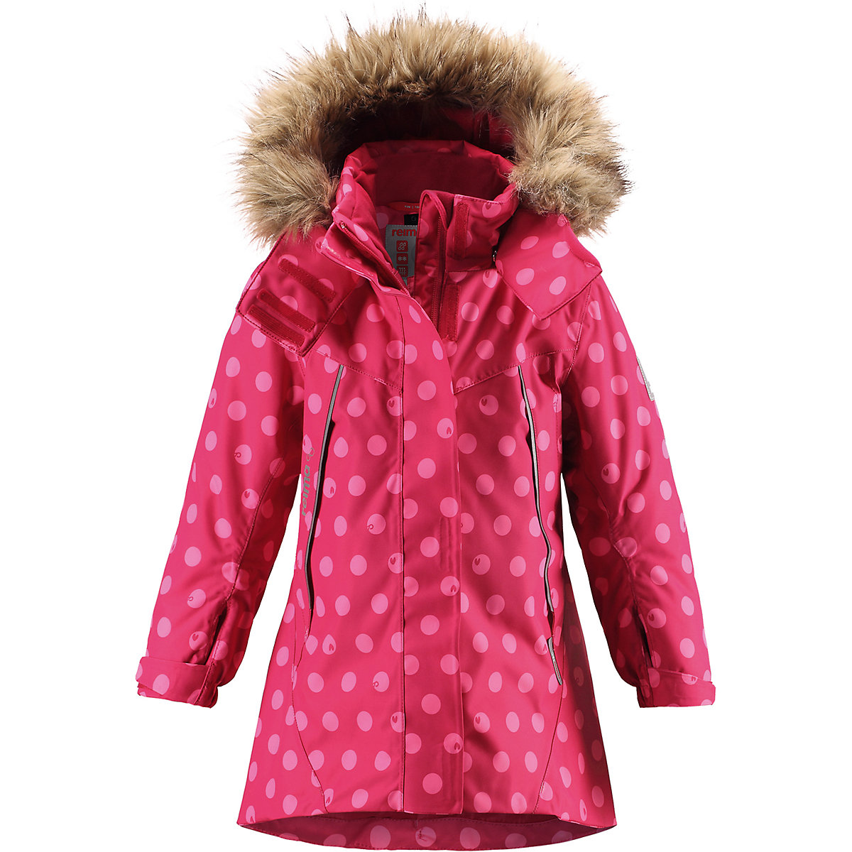 REIMA Jackets & Coats 8689335 for girls baby clothing winter warm boy girl jacket Polyester arsuxeo thermal cycling jacket winter warm up bicycle clothing windproof waterproof breathable pockets mtb bike jersey 15 k