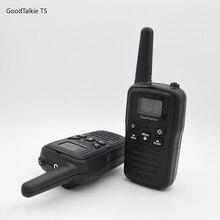 2 uds. GoodTalkie T5 radios de largo alcance de dos vías walkie talkie de viaje 10 km
