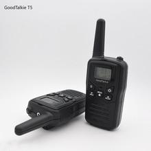 2pcs GoodTalkie T5 Long Range Two WAY radios Travel walkie talkie 10 km