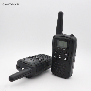 Image 1 - 2pcs GoodTalkie T5 long range two way radios travel walkie talkie 10 km
