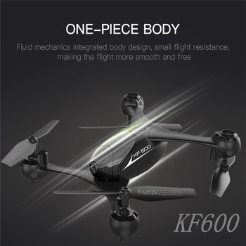 Kaifeng KF600 WiFi FPV With 720P Camera High Hold Mode Optical Flow Positioning RC Quadcopter Drone