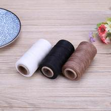 DIY Waxed Sewing Threads 150D/16 Flat Durable Strong Bounded Nylon Leather Sewing Thread for Craft Repair Shoes Sewing Tools(China)