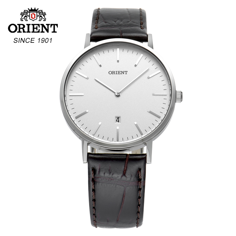 100% Original Orient Quartz Watches Leather Straps Mens Quartz Wristwatches 100% Original Orient Quartz Watches Leather Straps Mens Quartz Wristwatches