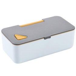 Pojemnik na lunch do mikrofali z telefonu komórkowego podstawka pod telefon pojemnik na żywność pudełka Bento szczelny do przechowywania żywności pojemnik na lunch na obóz piknikowy w Pudełka śniadaniowe od Dom i ogród na