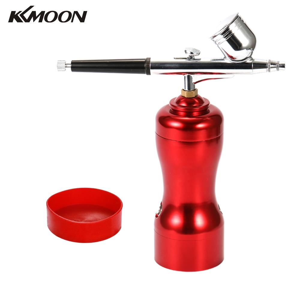 Lightweight Mini Size Portable Beautiful Airbrush Set Small Spray Pump Pen Set Air Compressor Kit for