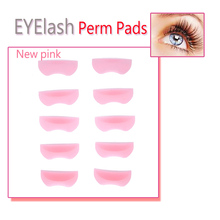 5 Pairs With Different Sizes Silicone Eyelash Perming Curler Curling False Fake Eye Lashes Shield Pad Curlers for Eyelashes