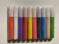 Bottled color sand for sand art 10 colors/set Sand pens 300sets