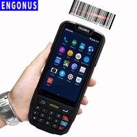 Лазерный свет сканирования КПК сеть 4G Bandheld Android сканер мини Nfc портативный сбора данных Rfid Новый