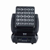 Professional lighting 25pcs*12W 4 in 1 rgbw led matrix moving head beam wash dmx dj stage light led blinder move head lights