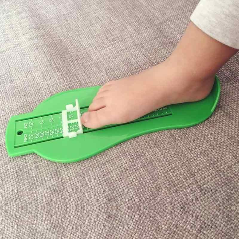 Zapatos de bebé tamaño de Regla de medición de pie medida de calibre de 0-20cm elegir zapatos adecuados para el crecimiento chico cuidado