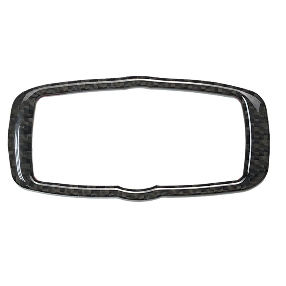 Carbon Fiber Accessories <font><b>Interior</b></font> Headlight Switch Frame Trim For <font><b>Bmw</b></font> <font><b>E60</b></font> 5 Series 2008 2009 2010 Car <font><b>Styling</b></font> image