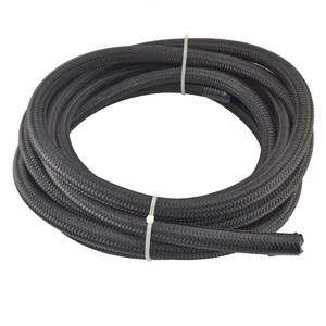 Image 3 - Kwaad energie AN4 AN6 AN8 AN10 Olie Brandstof Fittings Hose End Adapter 0/45/90/180 Graden connectors + Nylon Gevlochten Slang Lijn 5 Meter
