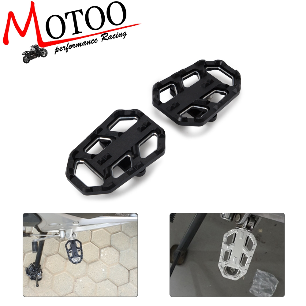 Motorcycle Foot Peg Footpegs Footrests Pedal Enlarger For Honda NC700X/S NC700 NC750 NC750X/S 2012-2018 CB500X 2015-2016