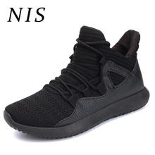 NIS Big Size PU Leather Canvas Casual Shoes Men Sneakers Sport Mens Vulcanize Shoes Sapato Masculino Zapatillas Deportivas New