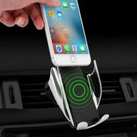 Auto Car Wireless Charging Phone Holder Phone, GPS, MP4, etc Mount For Mobile Phone 0 8mm 4 6.5 inchs GPS