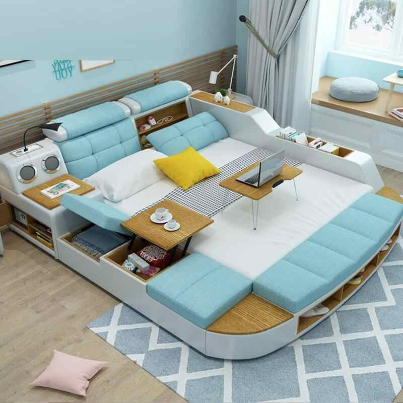La Casa Mobilya Home Box Kids Frame Letto Matrimoniale Ranza Single Totoro Bett Cama De Dormitorio Mueble bedroom Furniture Bed