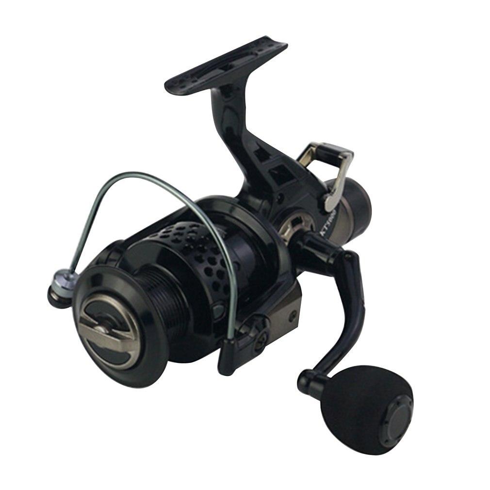 KT30-80 Double tête en métal avant et arrière frein bobine poisson mer pêche roue lancer ronde carpe pêche moulinet engins de pêche