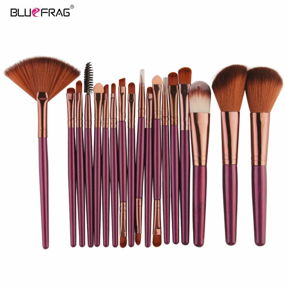 Pro Makeup Brushes Full Set 6/15/18Pcs Cosmetic Powder Eye Shadow Foundation Blush Blending Make Up Brush Maquiagem Beauty Tool