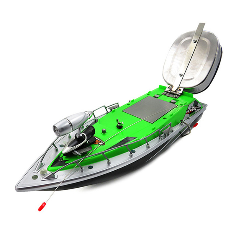 Ul Plug Boat Intelligent Wireless Electric Rc Fishing Bait Boat Remote Control Fish Finder Ship Searchlight