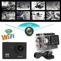 2.0 LCD H9 170 Degree 4K HD WiFi Sport Action Camera DV Car DVR SPCA6350 OV4689 Waterproof Multi Language 59.3x24.6x41.1mm