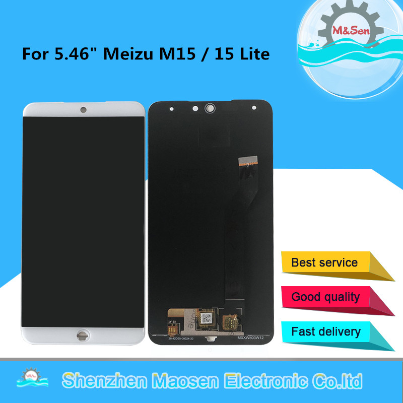 Original M&Sen For 5.46 Meizu M15 Snapdragon 626 LCD Display Screen+Touch Screen Panel Digitizer For Meizu 15 Lite DisplayOriginal M&Sen For 5.46 Meizu M15 Snapdragon 626 LCD Display Screen+Touch Screen Panel Digitizer For Meizu 15 Lite Display