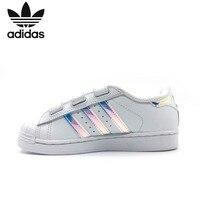 Adidas Superstar Cf C Original Kids Classic Skateboarding Shoes Children Anti Slippery Sports Sneakers #AQ6280