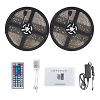 Remote Control 10M RGBW 12V 5A 5050SMD IP65 300 Waterproof LED Strip Light for Home Decoration Festival
