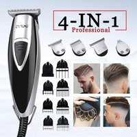LILI 4 in 1 Professional Hair Clipper 0 mm Modelling Hair Trimmer Razors Edger Multifunctional Razors Haircut Machine 110V 240V