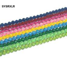 Бесплатная доставка граненые синтетические хрустальные бусины