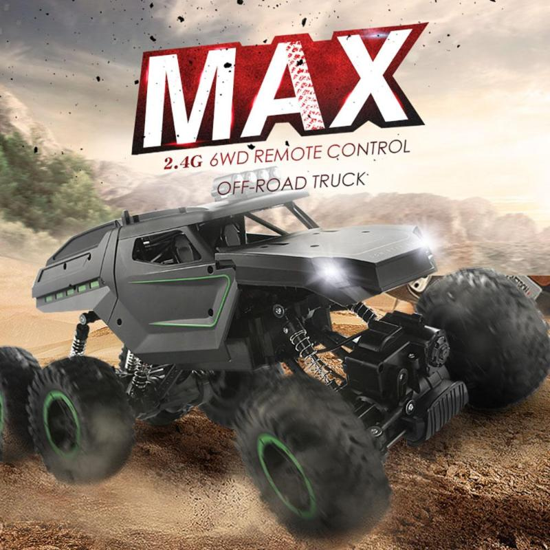 JJRC 2 4GHz Climbing Car Double Motors Bigfoot Car Remote Control Model Toy  Off-Road Vehicle Toys for Children RC Vehicles