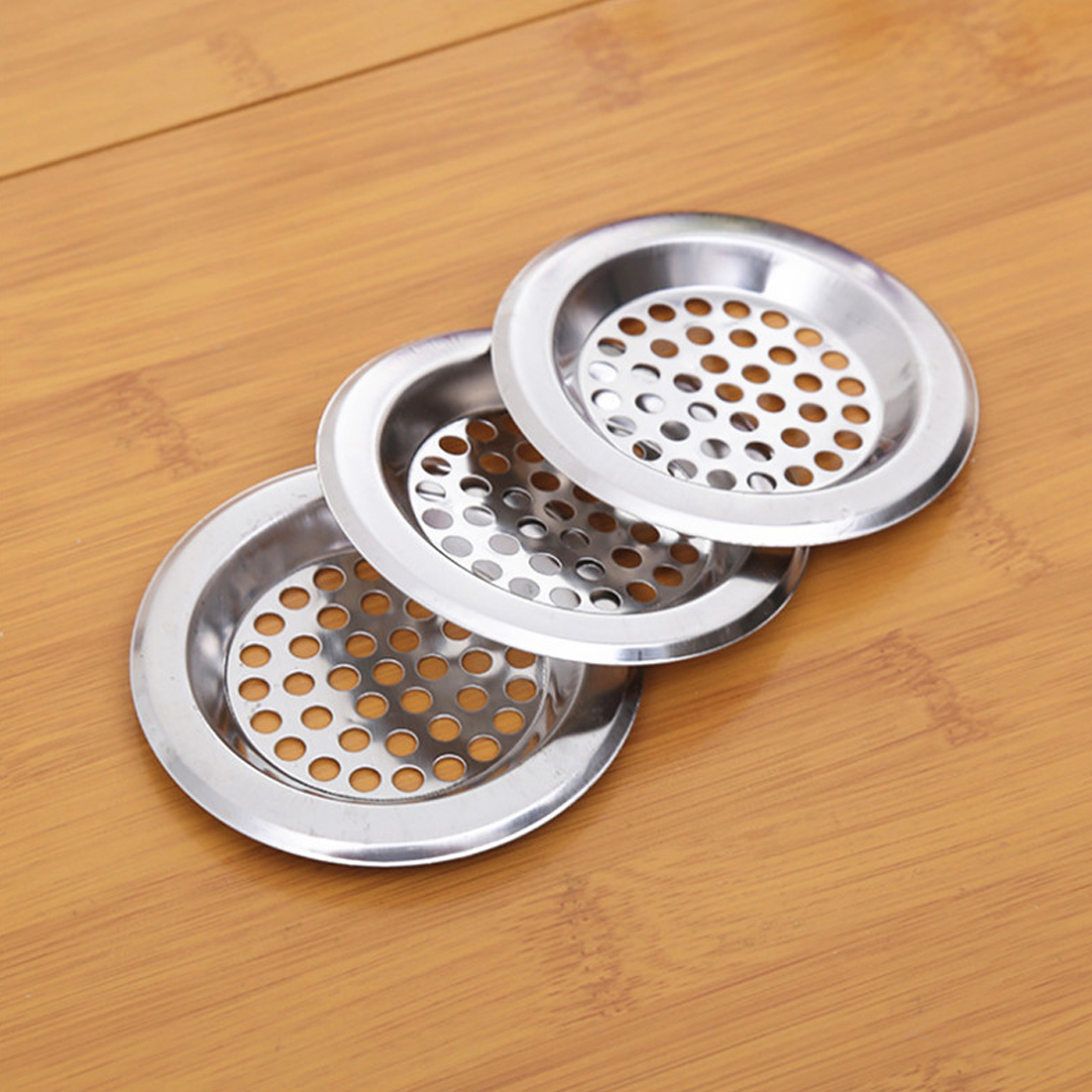 New Stainless Steel ABS Kitchen Sink Stopper Plug For Bath Drain Drainer Strainer Basin Water Rubber Sink Filter Cover Sinkhole