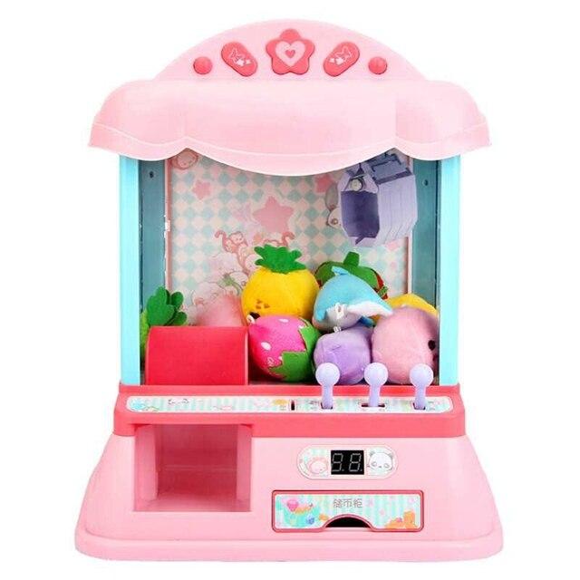 1 pièces créatif monnayeur drôle coloré belle petite griffe Machine enfant poupée Grabber pour enfant garçon enfant fille