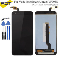 Tested Well LCD Display With Touch Digitizer For Vodafone Smart Ultra 6 VF 995N VF995N 995 995N Lcd Screen Touch Panel