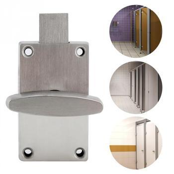 304 Stainless Steel WC Toilet Indicator Door Lock Bathroom Toilet Privacy Bolt Door Lock with Indicator cerradura puerta New new Туалет